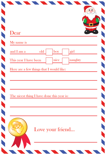 Letter To Santa - Simple