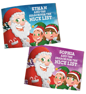 Personalised Christmas Eve Book From Santa Claus Now